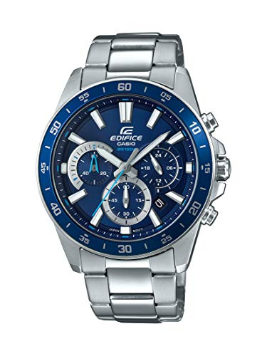 Casio-Mens-Edifice-Quartz-Watch-with-Stainless-Steel-Strap-Silver-216-Model-EFV-570D-2AVUDF