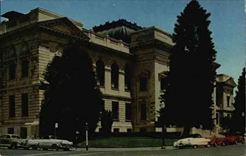Sonoma County Court House Santa Rosa, California Original Vintage Postcard ()