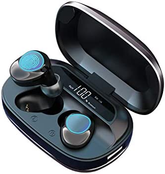 Bluetooth Wireless Earbuds MakThing Sport HeadphonesCharging Case HiFi True Stereo EarphonesIPX7 Water-Resistant & Noise Reduction Built-in Mic in-Ear Headset / Bluetooth Wireless Earbuds MakThing Sport HeadphonesCharging Case HiFi...