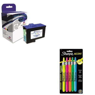 Dpcd7y745c Compatible Ink (KITDPSDPCD7Y745CSAN28175PP - Value Kit - Dataproducts DPCD7Y745C Compatible Remanufactured Ink (DPSDPCD7Y745C) and Sharpie Retractable Highlighters (SAN28175PP))