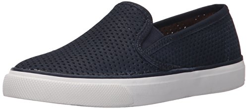 Blue Sperry Pennies (Sperry Top-Sider Women's Seaside Fashion Sneaker, Navy, 5.5 M US)