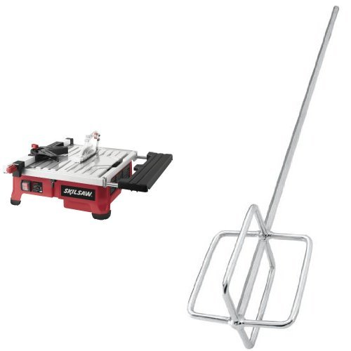 Skil 3550-02 7-Inch Wet Tile Saw with HydroLock Water Con...