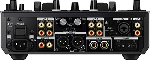 Pioneer DJM-S9 Professional 2-Channel Serato Battle Mixer & Decksaver DS-PC-DJMS9 Protective Cover – Bundle