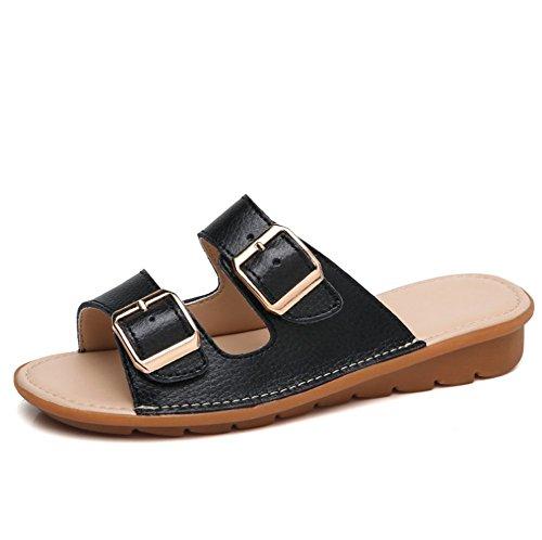 Pistoni Ladies Traspirante Summer Piatto della Pantofole D Morbido Fondo weiwei Casual Spiaggia OHwqZn8xU