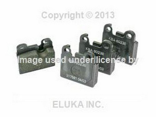 (BMW Rear Brake Pad Set E12 E24 E3 E9 34 21 1 159 265 528i 530i 630CSi 633CSi 3.0S 3.0SBav 3.0Si 3.0CS)