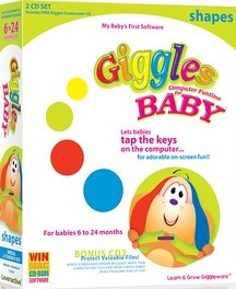 Navarre Giggles Computer Funtime For Baby - Shapes (Win/Mac)