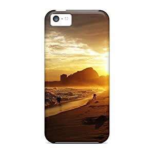 Cynthaskey GNjbXez8404ELLXu Protective Case For Iphone 5c(copacabana At Sunset)