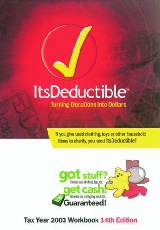 ItsDeductible: Tax Year 2003 Workbook pdf