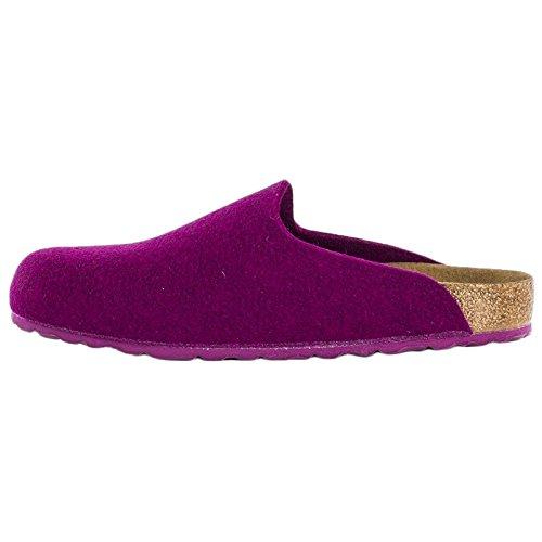 Birkenstock Womens Amsterdam Textile Sandals Purple