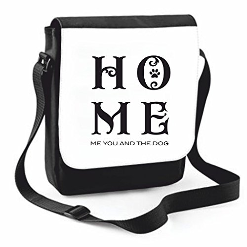 The Crossbody Traveling You Handbag Home Dog Large Case Me Bag Shoulder Family Cover And Compartment Statement Medium Messenger Black tfxwHOCxq6