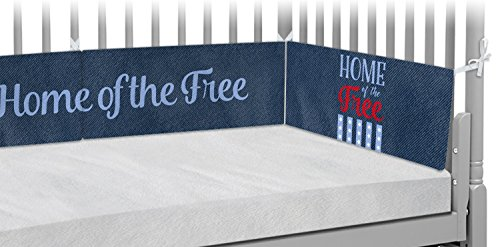 American Quotes Crib Bumper Pads (Personalized) by RNK Shops
