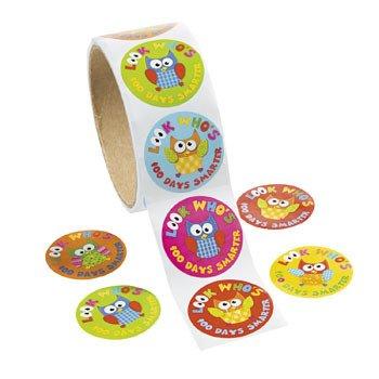 s of School Smarter Stickers ~ 100 Paper 1.5