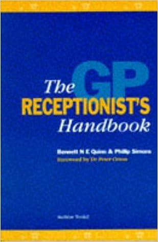 Book The GP Receptionist's Handbook