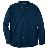 KingSize Men's Big & Tall Shrink-Less Long Sleeve Sport Shirt