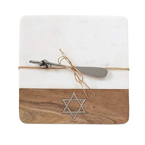 Star Of David Marble Board Set, 8