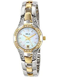 Women's Charlotte Silver & Gold Two-Tone Stainless Steel Watch ZR11761