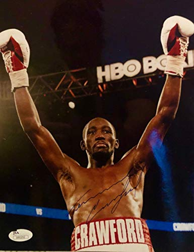 (Terence Bud Crawford Autographed Photo 8x10 Boxing WBO World Champion)
