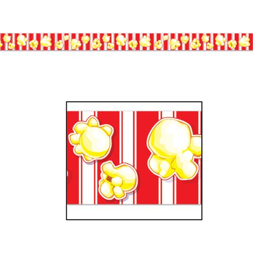 [Popcorn Party Tape Party Accessory (1 count) (1/Pkg)] (Popcorn Costume)