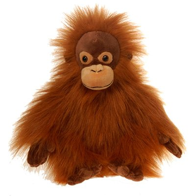 Amazon Com Fiesta Toys Brown Orangutan Plush Stuffed Animal Toy