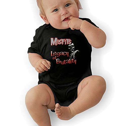 LuckyTagy Misfits- Legacy of Brutality Unisex Cool Boys & Girls Romper Baby BoyJumpsuit 43 -