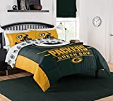 """The Northwest Company NFL Green Bay Packers """"Monument"""" Full/Queen Comforter #284544661"""