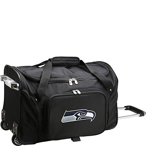 NFL 22'' Rolling Duffel Seattle Seahawks by TableTop King