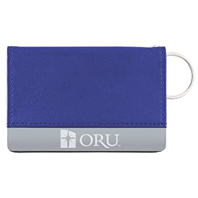 outlet Oral Roberts University - Leather ID Holder - Blue