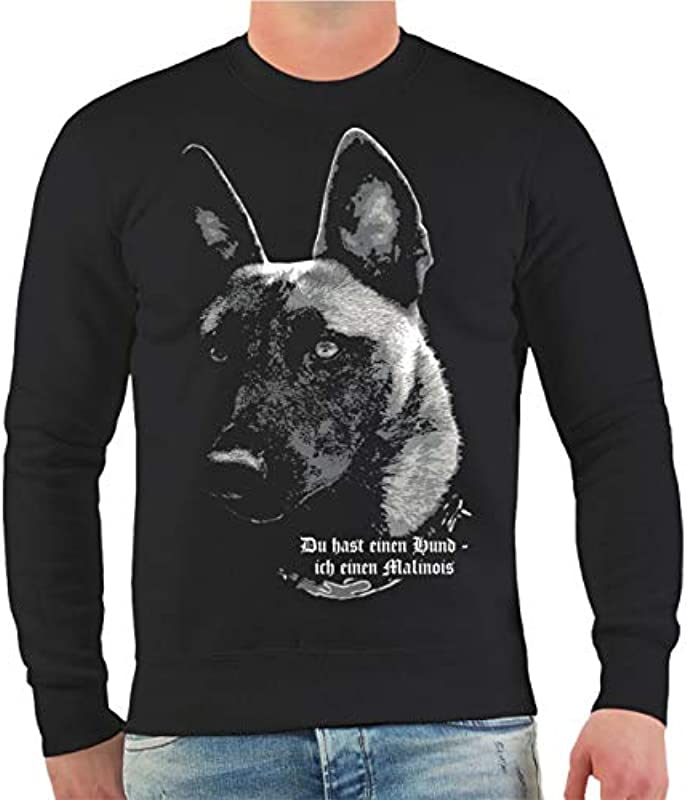Męski i męski sweter Malinois – jesteś jednym psem. Rozmiar S - 10XL: Odzież