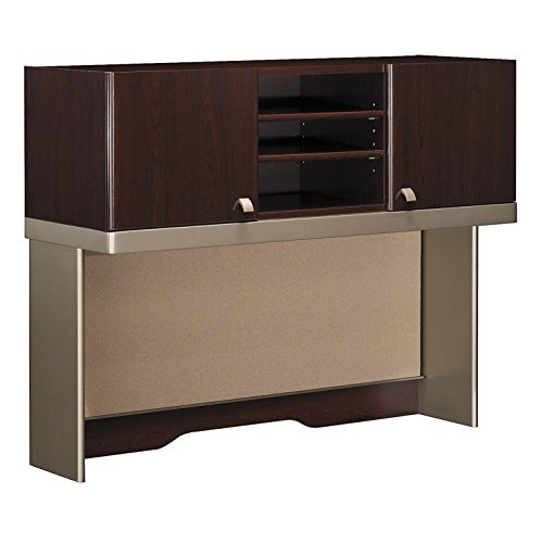 Bush Business Furniture Quantum Collection 48W Hutch (Tall) finished in Harvest - Quantum Suite Office
