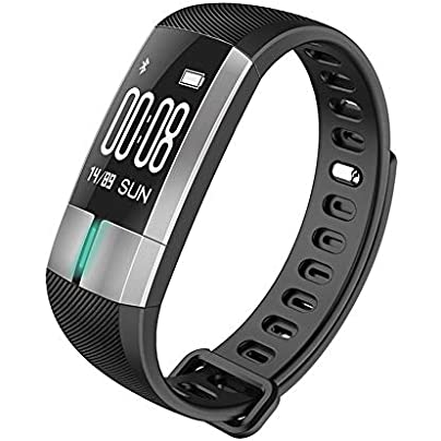 YIGIAO Smart Wristband Pedometer Fitness Heart Rate Monitor Blood Pressure Electronic ECG PPG with Wristband Pulse Estimated Price £50.49 -