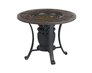 Living accents fire pit table gas 28 dia 6 for Amazon prime fire pit