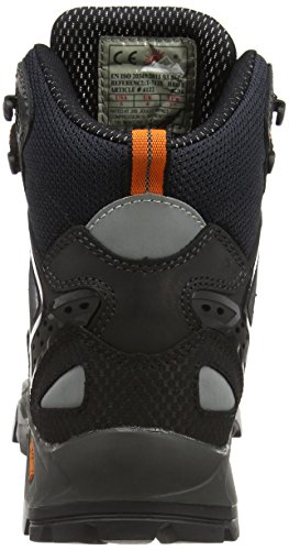 Unisex Cuero Talla Seguridad De Negro Adultos 47 4122 Color Himalayan Botas A6qIwYx6p