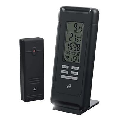 Auriol Temperatura Station para interior y exterior – Medidor de temperatura