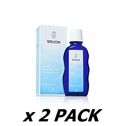 Weleda Cleansing Lotion ((2 Pack) - Weleda - Gentle Cleansing Milk | 100ml | 2 PACK BUNDLE)