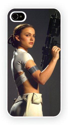 Natalie Portman A Iconic Female Moviestars, iPhone 4 4S, Etui de téléphone mobile - encre brillant impression