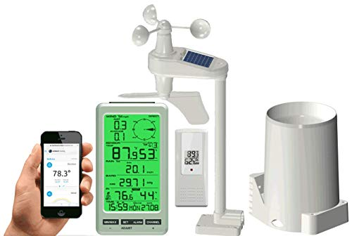 Ambient Weather WS-50 Smart Weather Station with Remote Monitoring and Alerts Ambient Weather