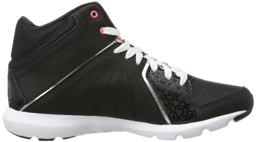 ReebokSTUDIO BEAT VI MID RS - Zapatillas de Atletismo Mujer - multi-coloured - Mehrfarbig (BLACK/WHITE/PURE SILVER/VICTORY PINK)