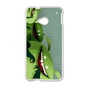 Cute Green Animal Hot Seller High Quality Case Cove For HTC M7