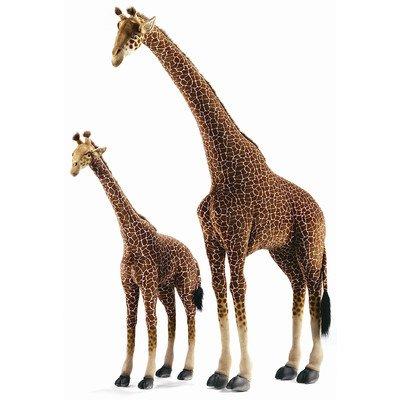 Hansa Large Life Size Standing Giraffe Plush Stuffed Animal