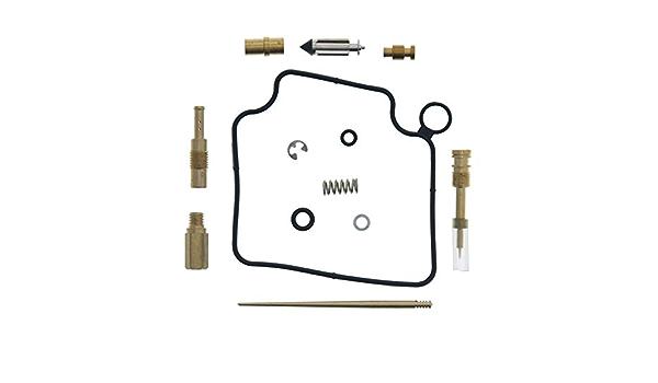 Carburetor Rebuild Kit for Honda TRX 400EX 1999-2004 Carb Repair Kits Fit Honda Sportrax 400 TRX400EX 2x4 Engine 1999 2000 2001 2002 2003 2004