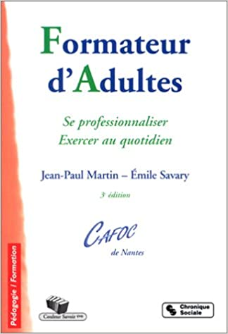 Livres gratuits Formateur d'adultes : Se professionnaliser - Exercer au quotidien pdf ebook