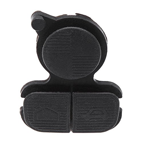 SODIAL(R)Replacement 3 Button Car Remote Keyless Key Case Cover Rubber Pad for BMW 3 5 (E36 Rubber)