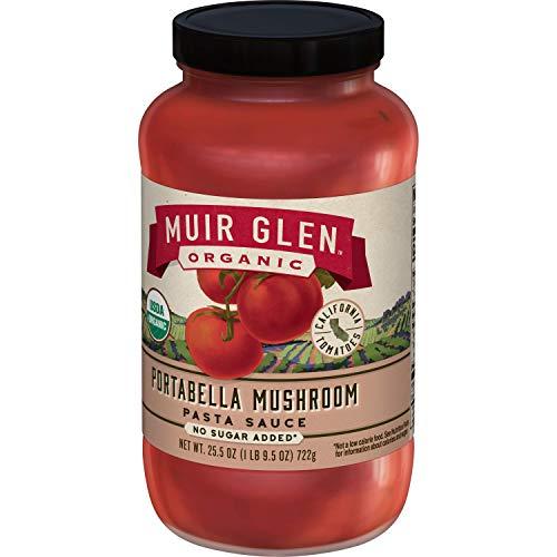 Portabella Mushroom Pasta (Muir Glen Organic Portabello Mushroom Pasta Sauce, 25.5 oz)