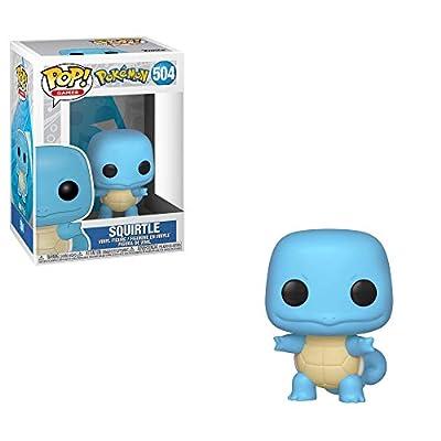 Funko Pop!: Pokemon - Squirtle, Multicolor: Toys & Games