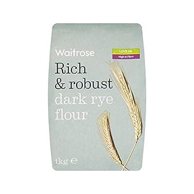 Dark Rye Flour Waitrose 1kg - Pack of 2 by Waitrose