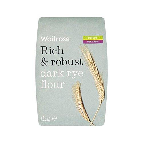 Dark Rye Flour Waitrose 1kg - Pack of 4