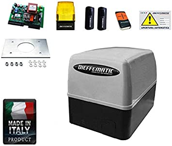 Kit de automatización de Motor de Puerta corredera FAAC Came BFT Nice Rib 400 dfm: Amazon.es: Bricolaje y herramientas
