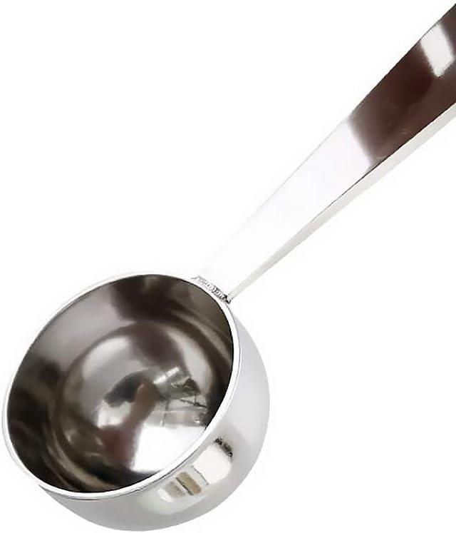 rongweiwang Acero Inoxidable Cuchara de caf/é Espresso Cuchara de Acero Inoxidable de caf/é Caf/é Sello de medici/ón de sabotaje Cucharada Inicio Accesorios de Cocina