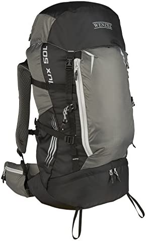 Wenzel 50 L Flux Trail Pack, Grey