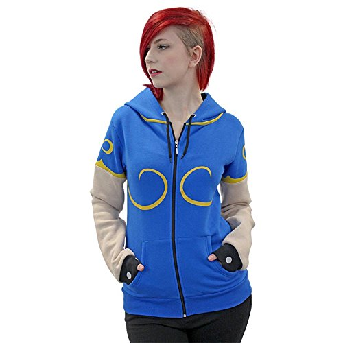 Street Fighter Official Chun-Li Hoodie Numskull